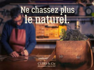 Affiche Cuirs & Co